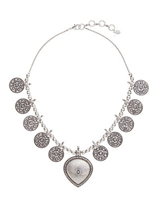 LUCKY SILVER BALI NECKLACE