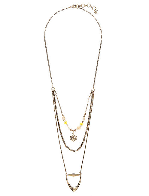 LUCKY LAYERS NECKLACE,