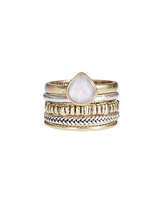 LUCKY LUCKY LAYERS RING STACK