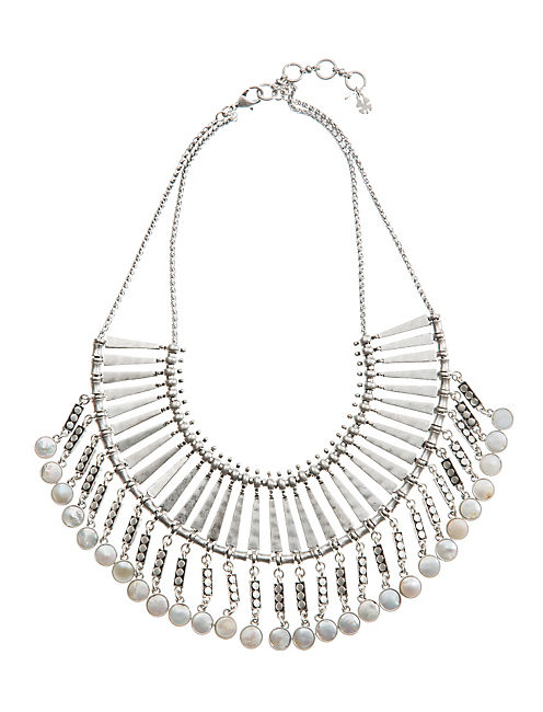 PEARL MAJOR BIB NECKLACE,