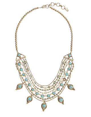 LUCKY STATEMENT NECKLACE