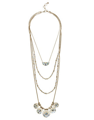 LUCKY LUCKY LAYER NECKLACE