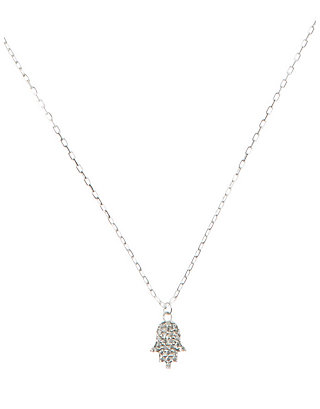 LUCKY DELICATE HAMSA NECKLACE