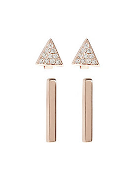 DELICATE BAR STUD SET