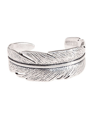 LUCKY CASTED FEATHER CUFF