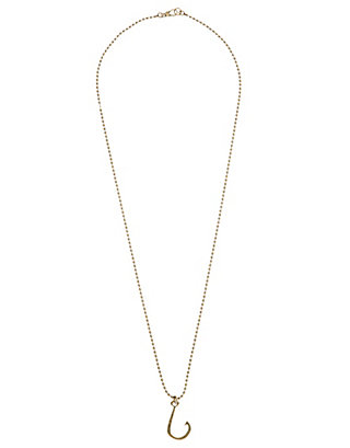 LUCKY FISH HOOK NECKLACE