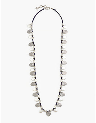 LUCKY LEATHER STRAND NECKLACE