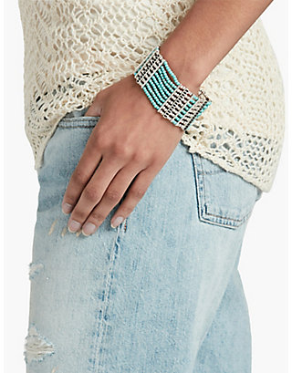 LUCKY TURQUOISE LAYER BRACELET