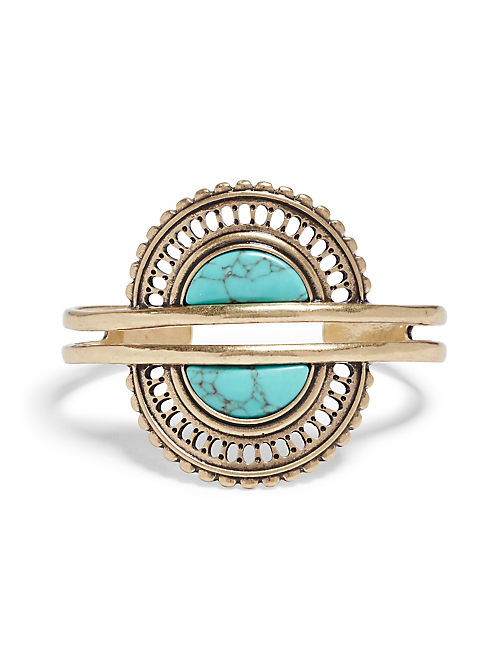 TURQUOISE DOUBLE CUFF,