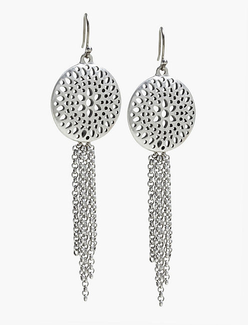 OPEN WORK EARRINGS,