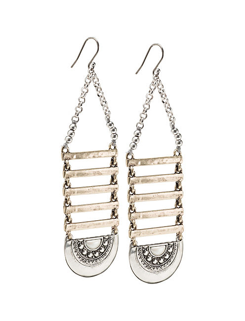 MAJOR LADDER EARRINGS,