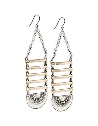 LUCKY MAJOR LADDER EARRINGS