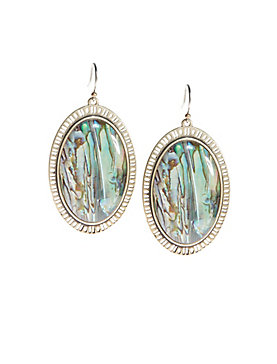 MAJOR ABALONE EARRINGS