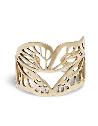 LUCKY GOLD BUTTERFLY CUFF