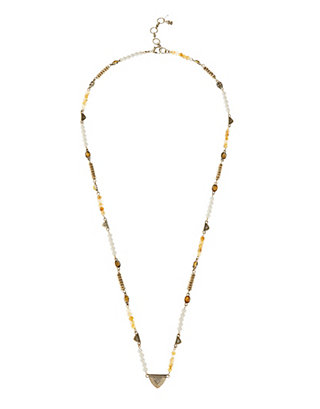 LUCKY BEADED NECKLACE