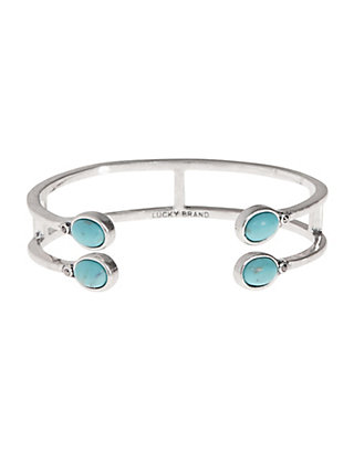 LUCKY SET STONE TURQUOISE CUFF