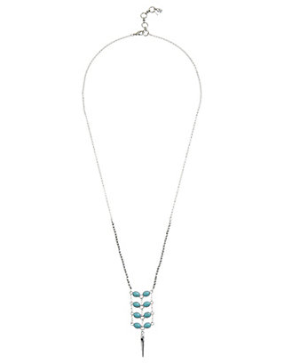 LUCKY TURQUOISE LADDER PENDANT