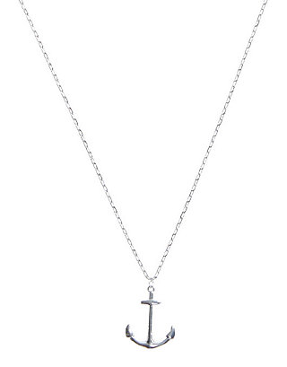 LUCKY DELICATE ANCHOR NECKLACE