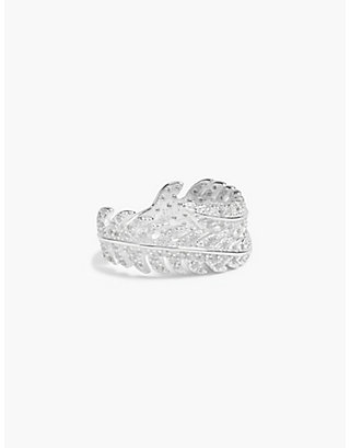 LUCKY DELICATE LEAF RING
