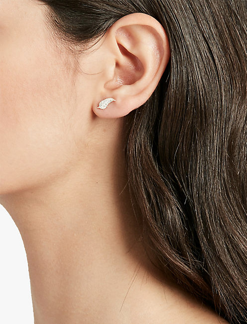 DELICATE LEAF STUD SET,