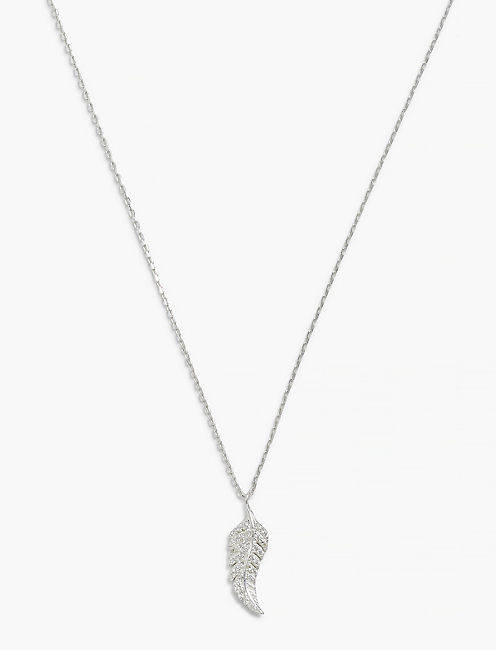 DELICATE LEAF NECKLACE,