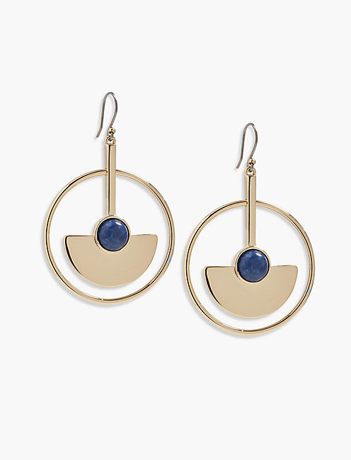 CIRCLE STATMENT EARRING,