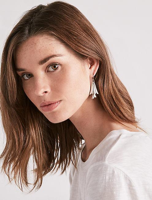 Lucky Petal Drop Earring