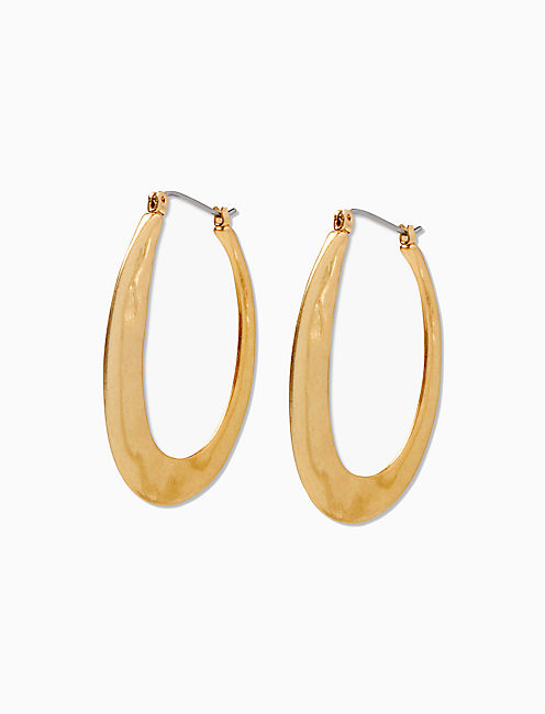 ABSTRACT GOLD HOOP,
