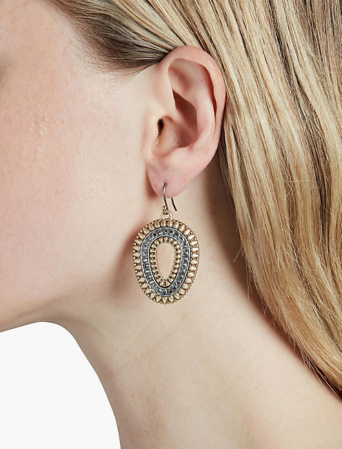 MEDIUM TRIBAL EARRING,