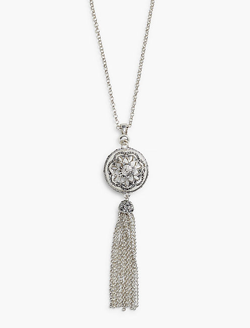 PAVE SPHERE NECKLACE,