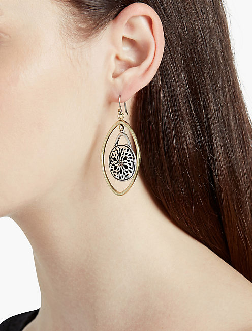 LUCKY SUGAR PLUM ORBIT EARRING