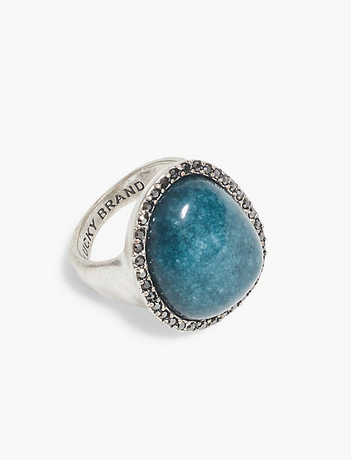 STONE STATEMENT RING,