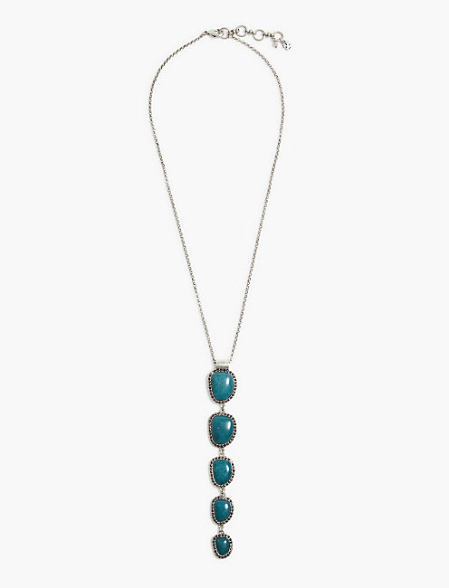 STONE LINEAR NECKLACE,