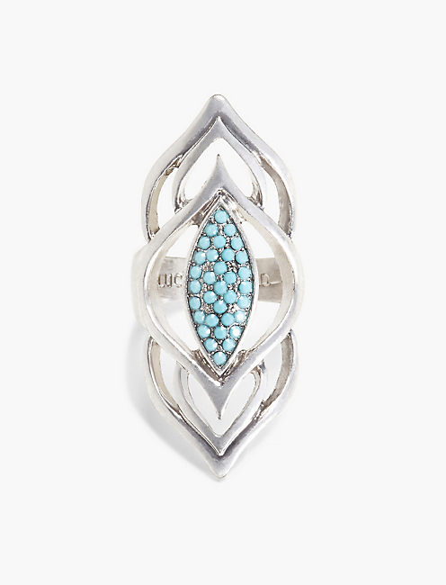 PEACOCK RING,