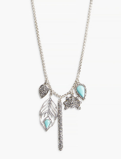 PEACOCK CHARM NECKLACE,