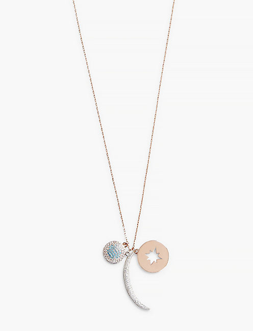 MOON DELICATE NECKLACE,