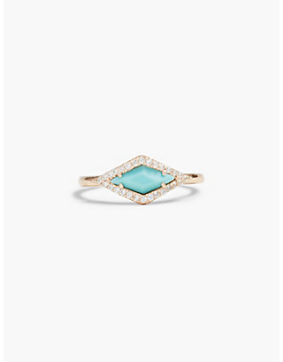 LUCKY DELICATE TURQUOISE RING