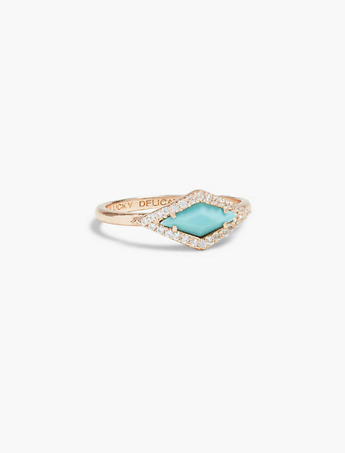 DELICATE TURQUOISE RING,