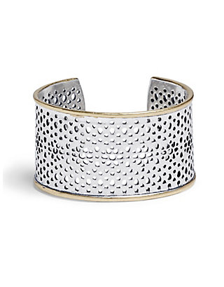 LUCKY ABSTRACT OPEN WORK CUFF