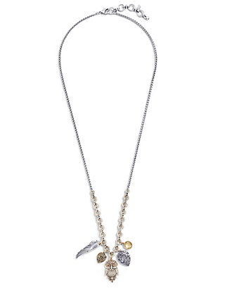 LUCKY OWL CHARM NECKLACE
