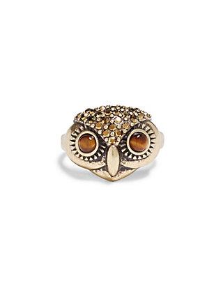 LUCKY OWL RING