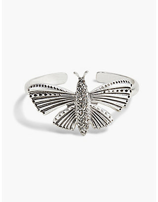 LUCKY PAVE BUTTERFLY CUFF
