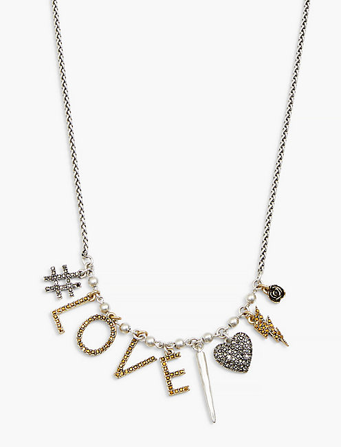 LOVE CHARM NECKLACE,