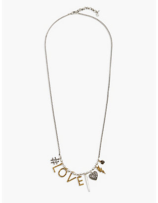 LUCKY LOVE CHARM NECKLACE