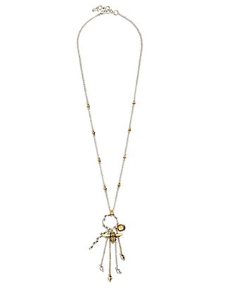 LUCKY BEE CHARM NECKLACE