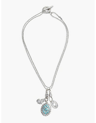 LUCKY BUTTERFLY CHARM NECKLACE