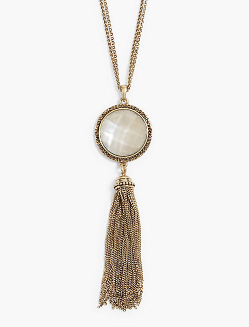 Lucky Tassel Necklace
