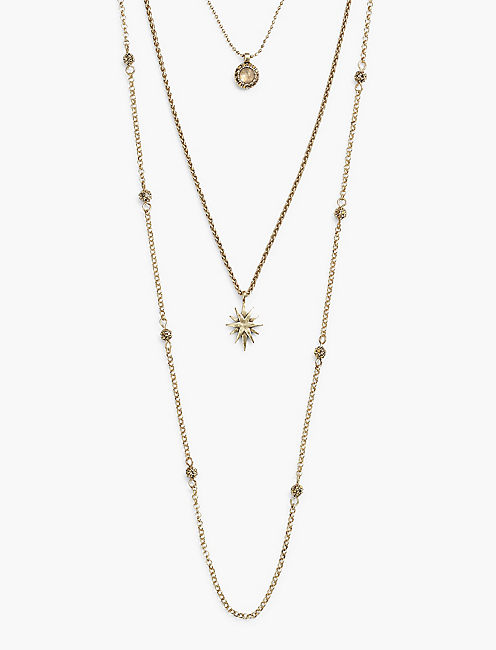 STAR LUCKY LAYER NECKLACE,