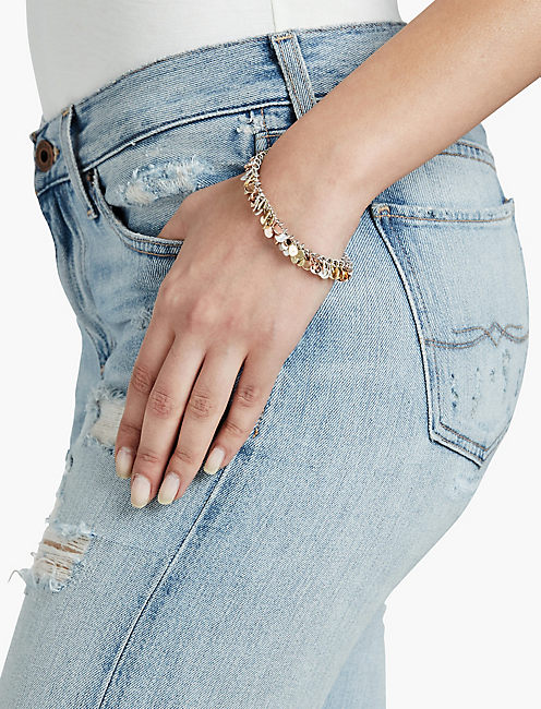 LUCKY Tri Tone Bracelet