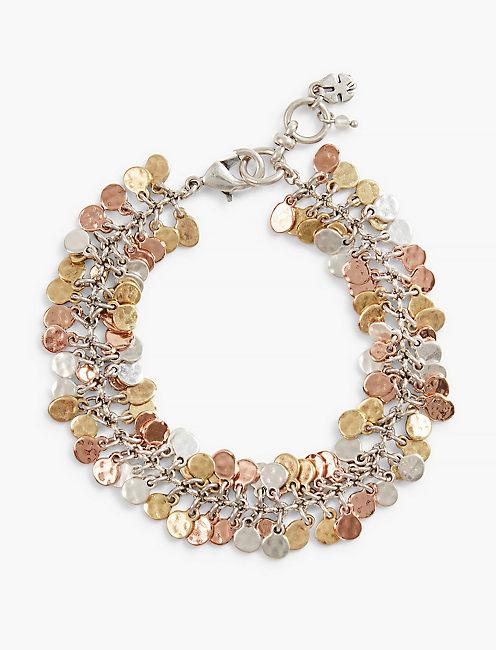 Tri Tone Bracelet,
